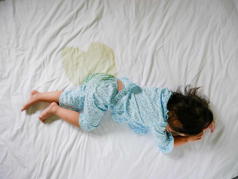 urinated mattress