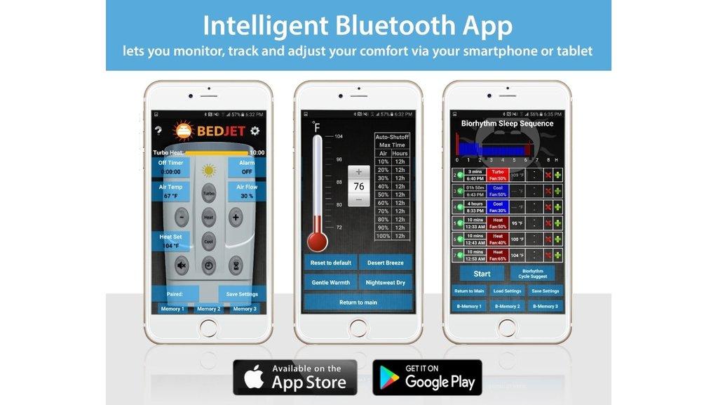 BedJet Smartphone App